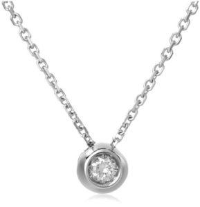 Miore-M0616W-Collier-Femme-Or-Blanc-7501000-18-carats-247-gr-Diamant-006-cts-Longueur-42-cm-0