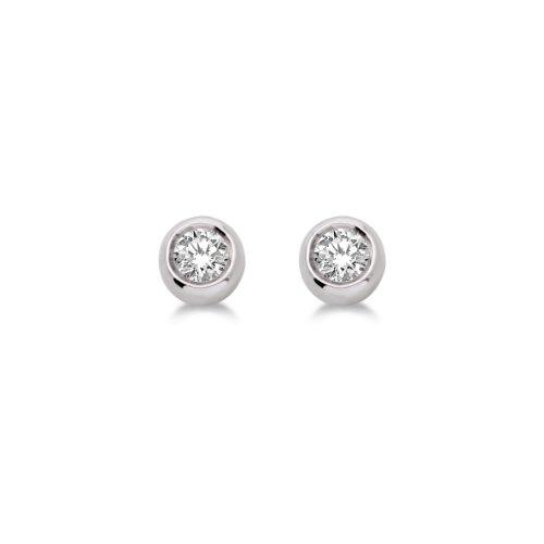 boucles doreilles diamant 01 cts or blanc 3751000 9
