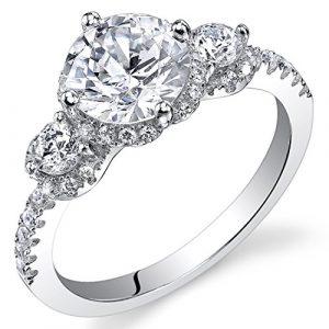 Revoni-Bague-de-fianailles-Femme-Argent-9251000-Diamant-de-culture-0