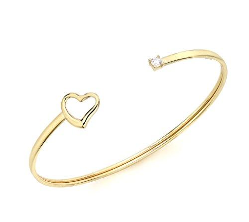 Carissima,Gold,Bracelet,Femme,Coeur,Or,jaune,9,