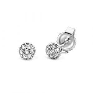 Miore-SA970E-Boucles-dOreille-Femme-Or-Blanc-9-Cts-3751000-029-Gr-Diamant-0