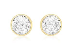 Carissima-Gold-Boucles-doreille-Femme-Or-jaune-9-carats-Oxyde-de-zirconium-0