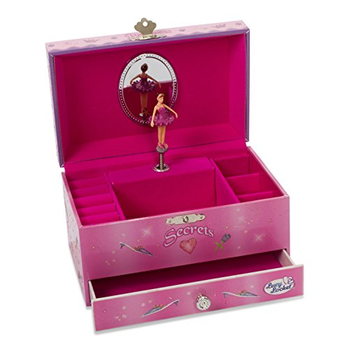 bo te bijoux musicale princesse coffret bijoux rose. Black Bedroom Furniture Sets. Home Design Ideas