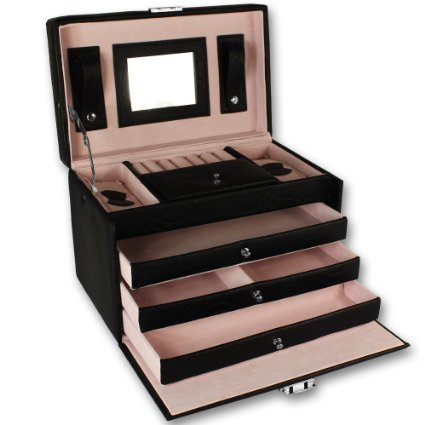 soldes bo te bijoux de luxe coffret bijoux armoire. Black Bedroom Furniture Sets. Home Design Ideas