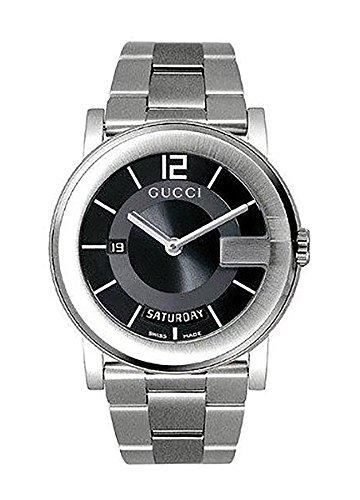 Gucci - YA101405 - Montre Homme - Bracelet en Acier Inoxydable 1    Gucci Hommes MontreModèle: YA101405Verre: Verre saphirMatériel de logement: Acier inoxydableMatière de bracelet: Acier inoxydableCouleur de logement: Argen
