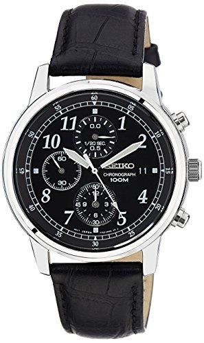 seiko montre bracelet cuir