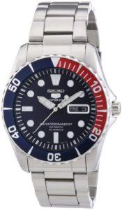 Seiko-SNZF15K1-5-Sports-Montre-Homme-Automatique-Analogique-Cadran-Bleu-Bracelet-Acier-Gris-0