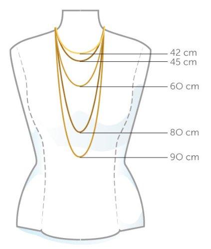 Miore - MA961CHN - Collier Femme avec pendentif - Coeur - Or jaune 375/1000 (9 carats) 1.5 gr - 45 cm 4 Bijoutier Boutique Bijou Femme en Or jaune Poids total du métal: 1.4 gr Longueur du collier : 45 cm