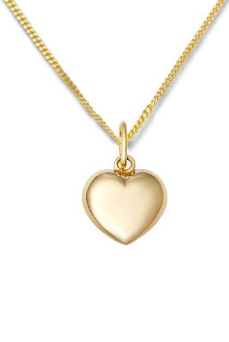 Miore - MA961CHN - Collier Femme avec pendentif - Coeur - Or jaune 375/1000 (9 carats) 1.5 gr - 45 cm 1 Bijoutier Boutique Bijou Femme en Or jaune Poids total du métal: 1.4 gr Longueur du collier : 45 cm