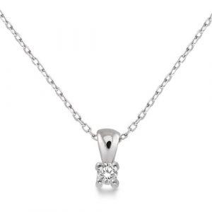 Miore-M9022P-Collier-avec-Pendentif-Femme-Or-blanc-3751000-9-carats-106-gr-Diamant-005-cts-45-cm-0 3 Bijoutier Boutique