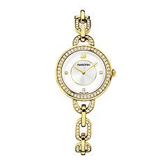 Montre Swarovski Aila Yellow Gold Tone Bracelet Montre Bijoux 1 Bijoutier Boutique Port gratuit.