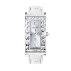 Montre Swarovsk Lovely Crystals Square White Montre Bijoux 1 Bijoutier Boutique Port gratuit.