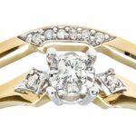 Ensemble Bague de fiançailles et alliance Femme - Or Jaune 375/1000 (9 Cts) 3.1 Gr - Diamant - T 52 8 Bijoutier Boutique Bague Femme en Or jaune 375/1000 Poids total du métal: 3.1 gr Type de pierre : Diamant