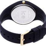 ICE-Watch - ICE Glam - Black - Small - Montre femme Quartz Analogique - Cadran Noir - Bracelet Silicone Noir - ICE.GL.BK.S.S.14 7 Bijoutier Boutique Cadran Rond Largeur du bracelet : 17 millimeters Etanchéité de la montre : 100 mètres (10 ATM)
