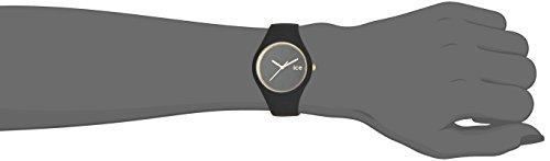 ICE-Watch - ICE Glam - Black - Small - Montre femme Quartz Analogique - Cadran Noir - Bracelet Silicone Noir - ICE.GL.BK.S.S.14 4 Bijoutier Boutique Cadran Rond Largeur du bracelet : 17 millimeters Etanchéité de la montre : 100 mètres (10 ATM)