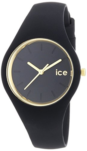 ICE-Watch - ICE Glam - Black - Small - Montre femme Quartz Analogique - Cadran Noir - Bracelet Silicone Noir - ICE.GL.BK.S.S.14 1 Bijoutier Boutique Cadran Rond Largeur du bracelet : 17 millimeters Etanchéité de la montre : 100 mètres (10 ATM)