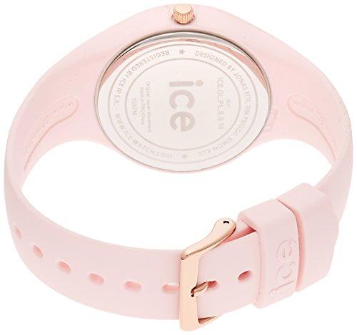 ICE-Watch - ICE Glam Pastel - Pink Lady - Small - Montre femme Quartz Analogique - Cadran Rose - Bracelet Silicone Rose - ICE.GL.PL.S.S.14 2 Bijoutier Boutique Cadran Rond Largeur du bracelet : 17 millimeters Etanchéité de la montre : 100 mètres (10 ATM)