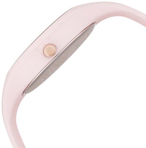 ICE-Watch - ICE Glam Pastel - Pink Lady - Small - Montre femme Quartz Analogique - Cadran Rose - Bracelet Silicone Rose - ICE.GL.PL.S.S.14 3 Bijoutier Boutique Cadran Rond Largeur du bracelet : 17 millimeters Etanchéité de la montre : 100 mètres (10 ATM)