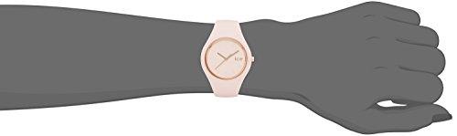 ICE-Watch - ICE Glam Pastel - Pink Lady - Small - Montre femme Quartz Analogique - Cadran Rose - Bracelet Silicone Rose - ICE.GL.PL.S.S.14 4 Bijoutier Boutique Cadran Rond Largeur du bracelet : 17 millimeters Etanchéité de la montre : 100 mètres (10 ATM)