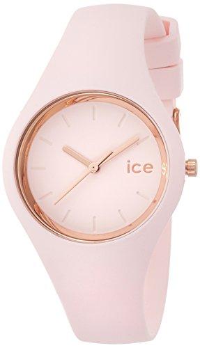 ICE-Watch - ICE Glam Pastel - Pink Lady - Small - Montre femme Quartz Analogique - Cadran Rose - Bracelet Silicone Rose - ICE.GL.PL.S.S.14 1 Bijoutier Boutique Cadran Rond Largeur du bracelet : 17 millimeters Etanchéité de la montre : 100 mètres (10 ATM)