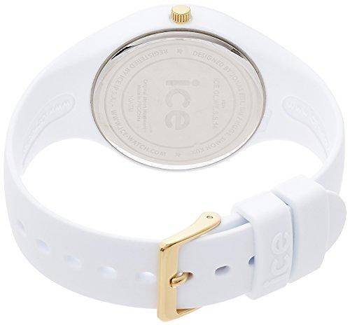 ICE-Watch - ICE Glam - White - Small - Montre femme Quartz Analogique - Cadran Blanc - Bracelet Silicone Blanc - ICE.GL.WE.S.S.14 2 Bijoutier Boutique Cadran Rond Largeur du bracelet : 17 millimeters Etanchéité de la montre : 100 mètres (10 ATM)
