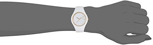 ICE-Watch - ICE Glam - White - Small - Montre femme Quartz Analogique - Cadran Blanc - Bracelet Silicone Blanc - ICE.GL.WE.S.S.14 4 Bijoutier Boutique Cadran Rond Largeur du bracelet : 17 millimeters Etanchéité de la montre : 100 mètres (10 ATM)