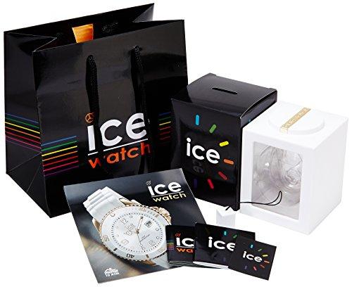 ICE-Watch - ICE Glam - White - Small - Montre femme Quartz Analogique - Cadran Blanc - Bracelet Silicone Blanc - ICE.GL.WE.S.S.14 5 Bijoutier Boutique Cadran Rond Largeur du bracelet : 17 millimeters Etanchéité de la montre : 100 mètres (10 ATM)