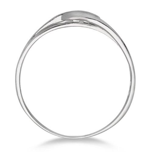 Miore - MA940RM - Bague Femme - Or blanc 375/1000 (9 carats) 1.06 gr - Diamant 0.075 cts - T 52 2 Bijoutier Boutique Bague Femme en Or blanc 375/1000 Poids total du métal: 1.06 gr Type de pierre : Diamant