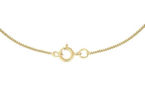 Carissima Gold - Femme - Collier avec pendentif coeur - Or jaune - (9 Carat) - Oxyde de zirconium - 1.44.9244 3 Bijoutier Boutique Bijou femme en or jaune Poids total du métal : 1,63 g Type de pierre : oxyde de zirconium