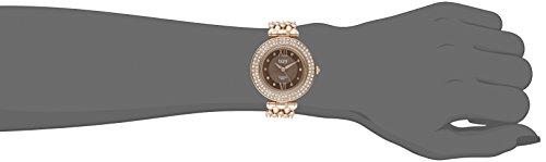 Burgi - Femme - BUR152RG - Cadran Marron - Marron - Bracelet Cuir 3 Bijoutier Boutique