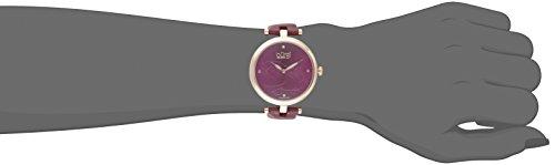 Burgi - Femme - BUR152RG - Cadran Marron - Marron - Bracelet Cuir 4 Bijoutier Boutique
