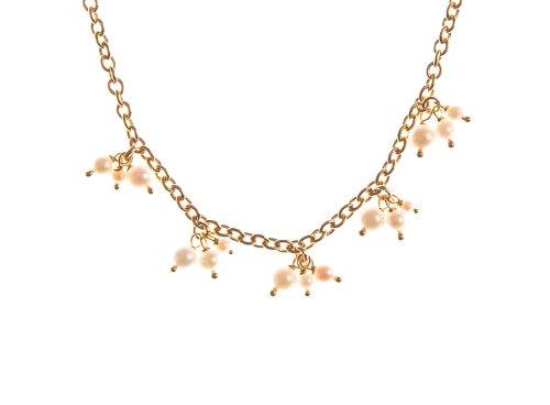 Collier - NKG-K10126 - Femme - Or Jaune 375/1000 (9 Cts) 6.2 Gr - Perle - Perle d'eau douce 1 Bijoutier Boutique Bijou Femme en Or jaune 375/1000 Poids total du métal: 6.2 gr Type de perle : Perle d'eau douce