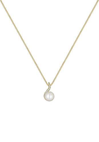 DIAMORE- Colliers- Femmes- Or jaune- 14 k (585)- Diamant- Blanc- 0.1 ct. - Perle d'eau douce- Blanc- 45-0109251515_45 2 Bijoutier Boutique Conçu avec élégance en ARGENT MASSIF finement poli (925/1000), suffisament durable pour résister à l'épreuve du temps. Ces bijoux élégants se présentent dans une jolie boîte à cadeaux. Le cadeau IDÈAL pour un ami ou un être cher. ARTISANAT DE HAUTE QUALITÉ notre équipe qualifiée et motivée, qui se trouve sur la superbe île de Bali, possède de vastes connaissances dans le domaine de la création de bijoux durables.