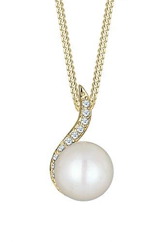 DIAMORE- Colliers- Femmes- Or jaune- 14 k (585)- Diamant- Blanc- 0.1 ct. - Perle d'eau douce- Blanc- 45-0109251515_45 1 Bijoutier Boutique Conçu avec élégance en ARGENT MASSIF finement poli (925/1000), suffisament durable pour résister à l'épreuve du temps. Ces bijoux élégants se présentent dans une jolie boîte à cadeaux. Le cadeau IDÈAL pour un ami ou un être cher. ARTISANAT DE HAUTE QUALITÉ notre équipe qualifiée et motivée, qui se trouve sur la superbe île de Bali, possède de vastes connaissances dans le domaine de la création de bijoux durables.