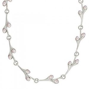 En-argent-sterling-culture-deau-douce-Rose-Collier-de-Perles-0 3 Bijoutier Boutique