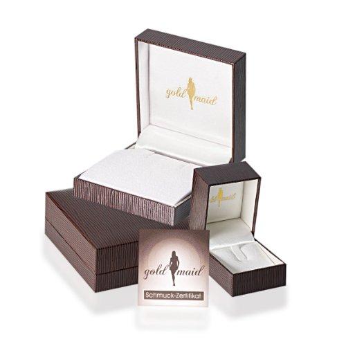 Goldmaid - Pe C5066WG - Collier Femme - Or Blanc 375/1000 (9 Cts) 2.5 Gr - Diamant - Perles d'eau douce 1 Bijoutier Boutique Ce bijou est fabriqué en or véritable, le poinçon apposé atteste de la teneur en or Les perles en tant que bijou classique pour toutes les occasions, seules des perles véritables, naturelles sont utilisées Goldmaid fabrique de véritables bijoux de qualité joaillerie depuis trois générations, découvrez des designs modernes et classiques agréables à porter