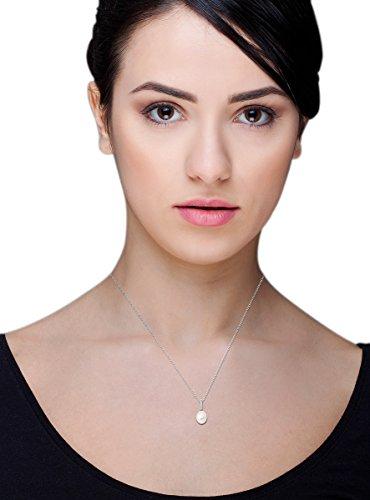 Miore - MG8016N - Collier Femme - Or Blanc 18 Cts 750/1000 2.09 Gr - Perle d'eau douce 4 Bijoutier Boutique Or Blanc 18 carats 2.09 grams Pierre principale :