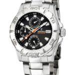 Festina - F16242-9 - Montre Homme - Multifonctions - Bracelet acier 5 Bijoutier Boutique Montre Mixte à mouvement Quartz - Bracelet en Acier inoxydable Argent Type d'affichage : Analogique Diamètre du cadran : 41 millimètres