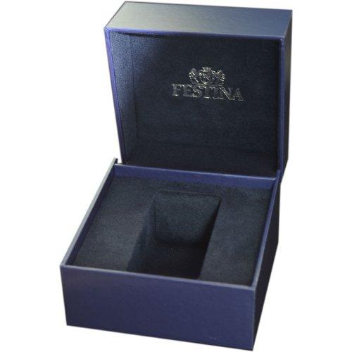Festina - F16489/5 - Montre Homme - Quartz - Chronographe - Bracelet Cuir Noir 3 Bijoutier Boutique Montre pour Homme à mouvement Quartz - Bracelet en Cuir Noir Type d'affichage : Chronographe Diamètre du cadran : 46 millimètres