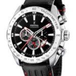 Festina - F16489/5 - Montre Homme - Quartz - Chronographe - Bracelet Cuir Noir 4 Bijoutier Boutique Montre pour Homme à mouvement Quartz - Bracelet en Cuir Noir Type d'affichage : Chronographe Diamètre du cadran : 46 millimètres