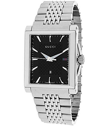 Gucci G-TIMELESS Montre Unisex noir/acier YA138401 1 Bijoutier Boutique
