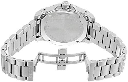 Montre Hommes-Gucci-YA136208 5 Bijoutier Boutique Mouvement à quartz suisse Verre saphir Boîtier en acier inoxydable et bracelet