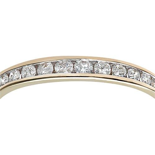 Bague Femme - Or Jaune 375/1000 (9 Cts) 1.05 Gr - Diamant 0.02 Cts - T 53 3 Bijoutier Boutique Bague Femme en Or jaune 375/1000 Poids total du métal: 1.05 gr Type de pierre : Diamant
