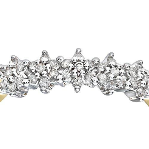 Bague Femme - Or jaune (9 cts) 1.4 Gr - Diamant 0.005 Cts - T 49 - PR06551Y-J 3 Bijoutier Boutique Bague Femme en Or jaune 375/1000 Poids total du métal: 1.2 gr Type de pierre : Diamant