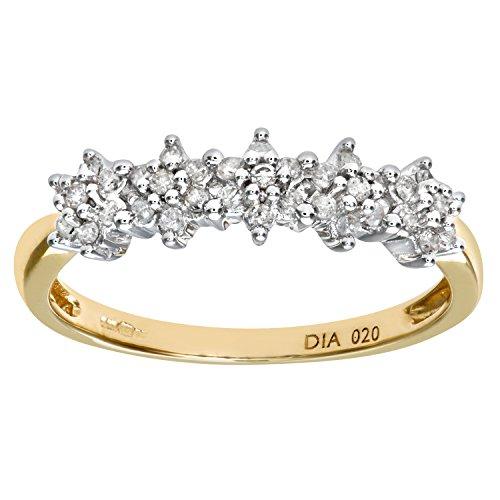 Bague Femme - Or jaune (9 cts) 1.4 Gr - Diamant 0.005 Cts - T 49 - PR06551Y-J 1 Bijoutier Boutique Bague Femme en Or jaune 375/1000 Poids total du métal: 1.2 gr Type de pierre : Diamant