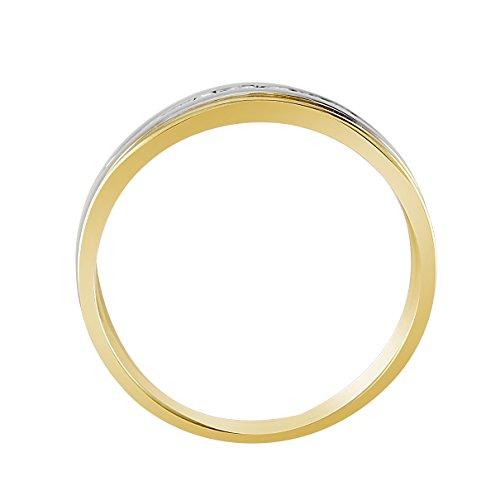 Bella Donna - 105082 - Bague Femme - Or Jaune 333/1000 (8 Cts) 3.1 Gr - Diamant - T 50 (15.9) 2 Bijoutier Boutique Bague Femme en Or jaune 333/1000 Poids total du métal: 3.1 gr Type de pierre : Diamant