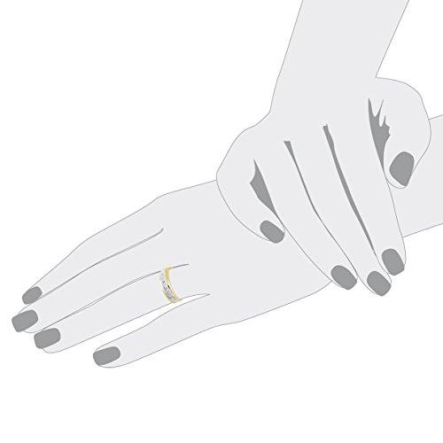 Bella Donna - 105082 - Bague Femme - Or Jaune 333/1000 (8 Cts) 3.1 Gr - Diamant - T 50 (15.9) 3 Bijoutier Boutique Bague Femme en Or jaune 333/1000 Poids total du métal: 3.1 gr Type de pierre : Diamant