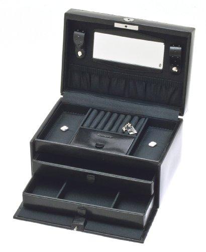 Davidt's - 354255.01 - Boîte à bijoux Femme - Noir 2 Bijoutier Boutique Couleur de la boîte ou du coffret à bijoux : Noir Dimensions de la boîte ou du coffret à bijoux : 24 x 16.5 x 12.5 cm