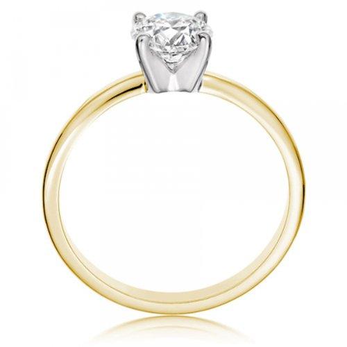 Diamond Manufacturers - Bague de fiancailles avec diamant Rond Femme - Or jaune 750/1000 (18 cts) - Diamant 1.94 ct 8 Bijoutier Boutique Or jaune 750/1000 (18 cts) 1.94 carat Couleur-E Pureté-VS2 Bague de fiancailles avec Diamant certifié de qualité supérieure. Le diamant est serti sur une monture à Griffes en Or jaune 750/1000 (18 cts).