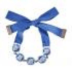 Jewel-y McHue-y Bracelet Bleu canard Plaqué rhodium Créé par Rosie Assoulin pour Atelier Swarovski